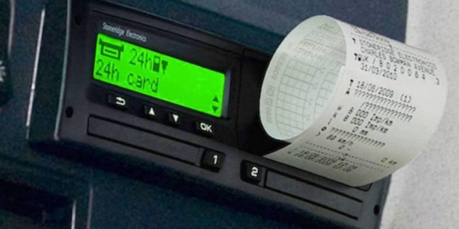 Nuevas Instrucciones de Tacografo sobre Tiempos Conducción y Descanso